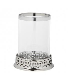 Świecznik srebrny