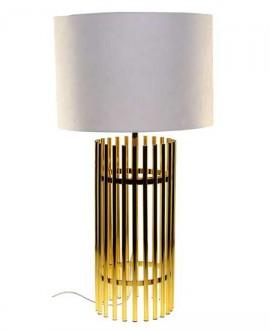 LAMPA STALOWA LEONARDO 77 CM